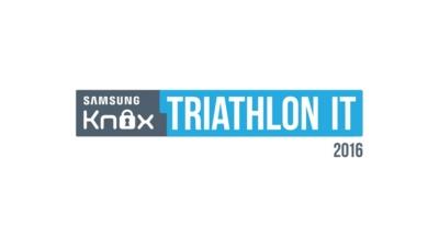 Wydarzenie sportowe Samsung KNOX Triathlon IT