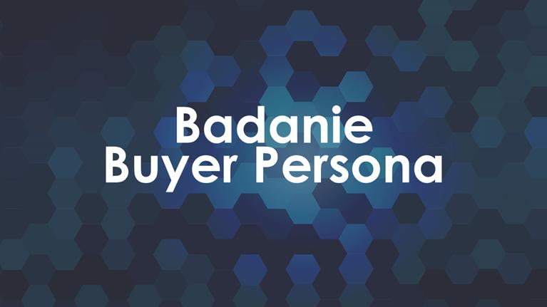 Specjalistyczna usługa budowania Person Zakupowych