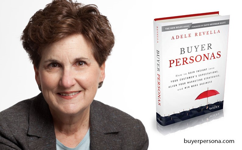 """Książka Adele Revella """"Buyer Personas: How to Gain Insight into your Customer's Expectations, Align your Marketing Strategies, and Win More Business"""""""